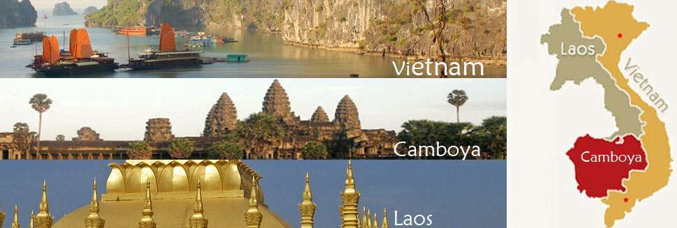 Vietnam, Laos and Cambodia Travel 18 days